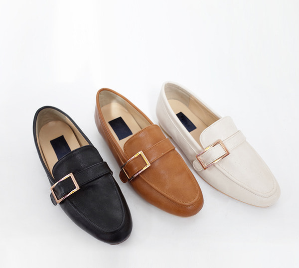 buckle loafer - 3 color